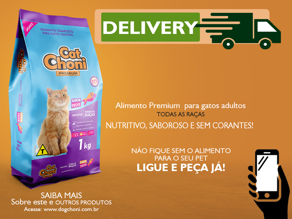 Post Delivery Catchoni Premium Sabor Peixe