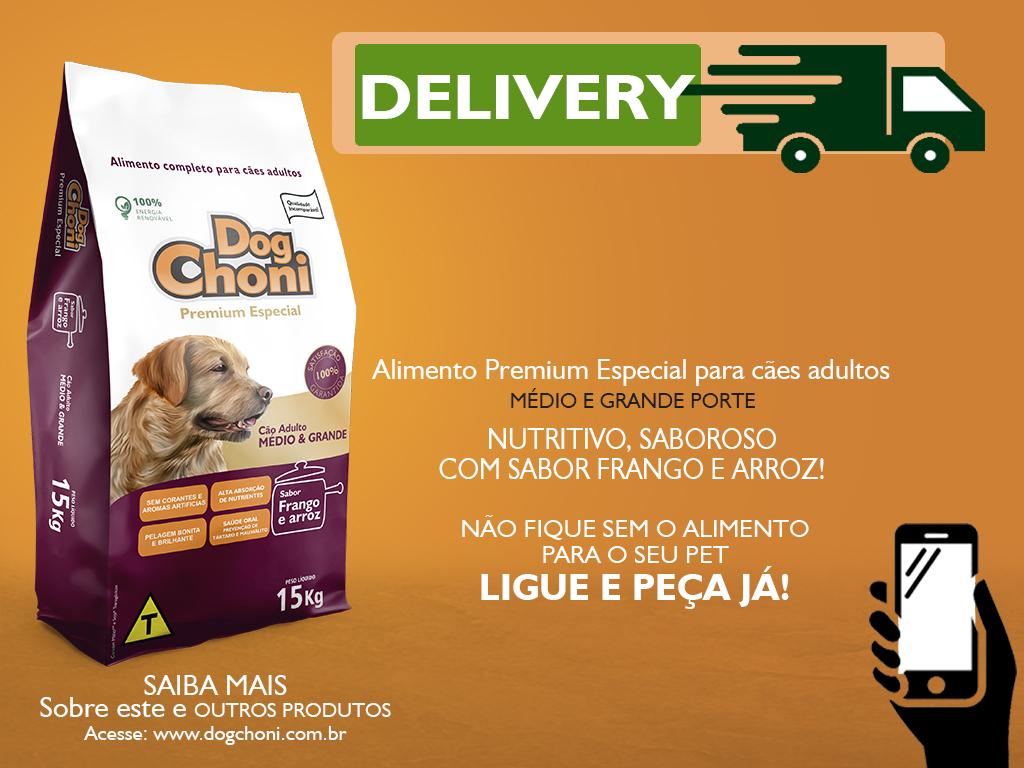 Post Dogchoni Premium Especial Frango e Arroz