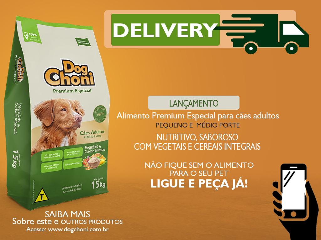 Post Delivery Dogchoni Premium Especial Vegetais e Cereias Integrais